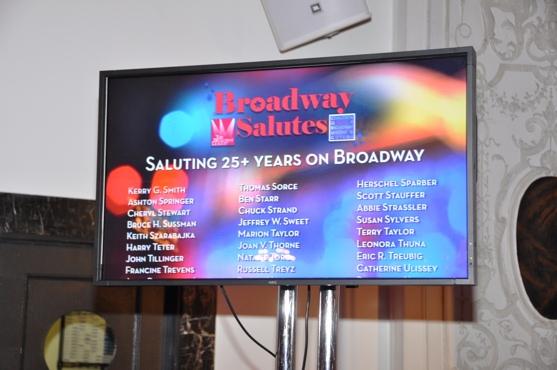 Photo Coverage: Raul Esparza, Bebe Neuwirth et al. at 'Broadway Salutes 2011'