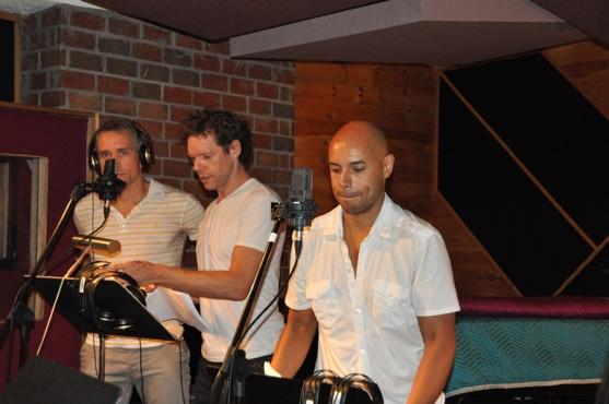 Mike McGowan, Gavin Lodge and Thom Allison