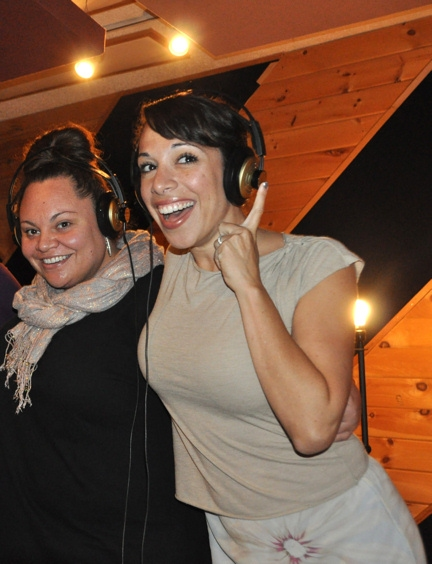 Keala Settle and Ellyn Marie Marsh at PRISCILLA Sings for 'Carols for a Cure'