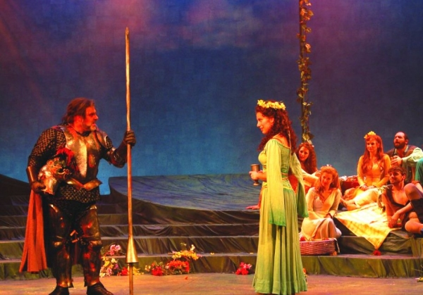 Jarid Faubel and Kim Carson and Cast at Engeman Theater's CAMELOT- Part 2!