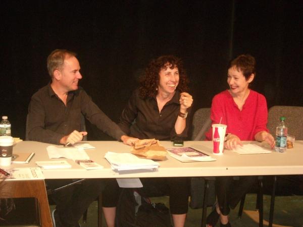 Stephen Flaherty, Andrea Lepcio, Lynn Ahrens