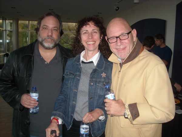 Guild Executive Directors Ralph Sevush and Gary Garrison, along with program director Andrea Lepcio