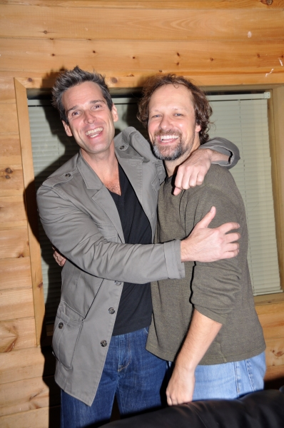 Photo Coverage: Hugh Panaro and Jim Stanek Sing for 'Carols For A Cure'