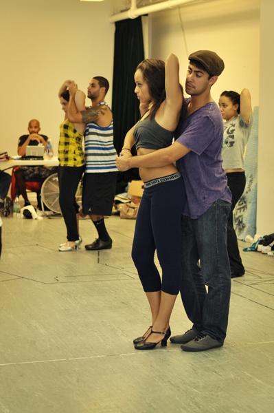 Presilah Nunez and Perry Young
