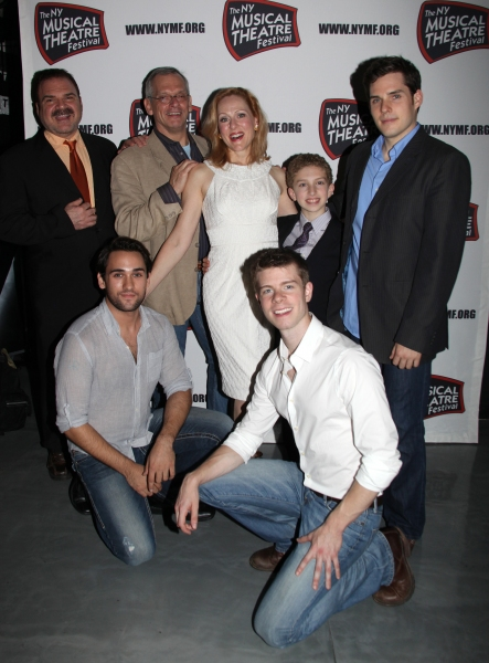 Photo Coverage: Backstage at the 2011 NYMF Performance Preview!