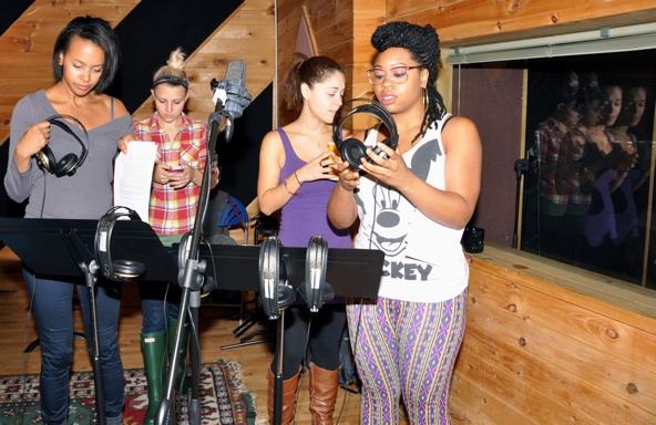 Corbin Reid, Annaleigh Ashford, Genny Lis Padilla and Tamika Sonja Lawrence Photo