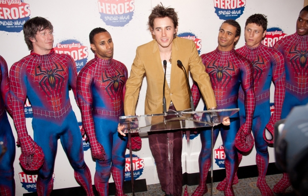 Reeve Carney with Christopher Tierney, Gerald Avery, Marcus Bellamy, Ari Loeb, and Daniel Curry