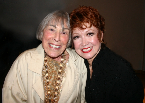 Photo Flash: Mary Rodgers Visits Donna McKechnie for Opening Night of McCarter's TEN CENTS A DANCE!