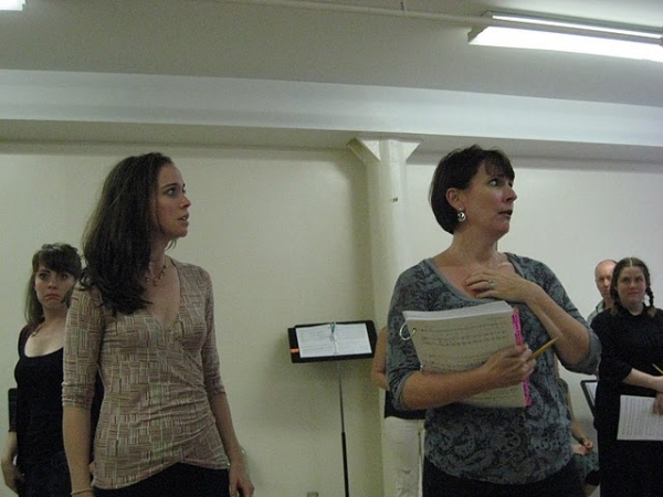 Photo Flash: JANE AUSTEN'S PRIDE & PREJUDICE in Rehearsal!