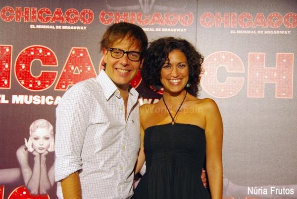 Angel Llacer y Elena Gadel