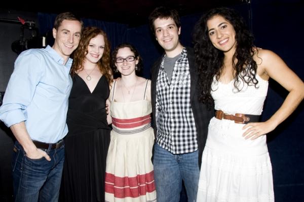 Adam Halpin, Megan Reinking, Stacey Weingarten, David Levinson, Nadine Malouf