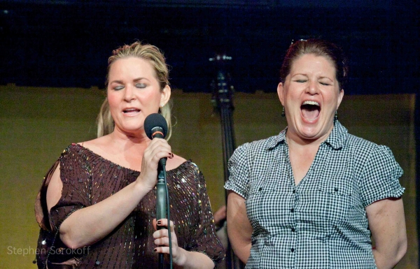Colleen Mchugh & Lea Blackhurst at BWW Reviews: Colleen McHugh in CHANGE OF A DRESS at the Duplex