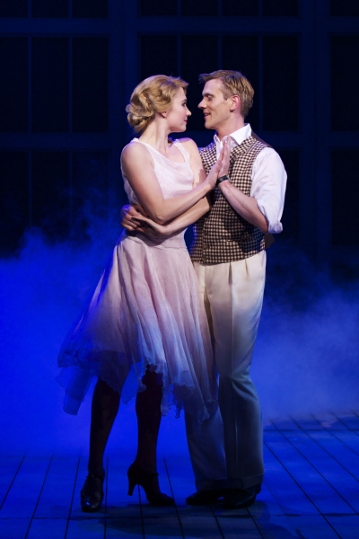 Scarlett Strallen and Adam Cooper