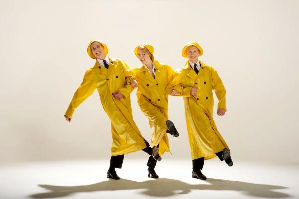 Adam Cooper, Scarlett Strallen and Daniel Crossley Photo