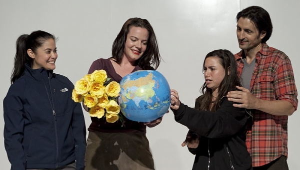 Maha Chehlaoui, Danielle Skraastad, Emma Galvin, and Thom Rivera