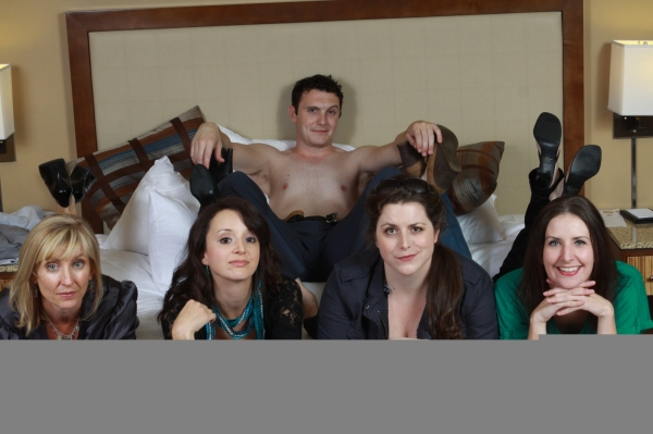 Cast L-R: Patty Ionoff, Karli Kaiser, James O'Hagan Murphy, Haley Johnson and Missy Moore