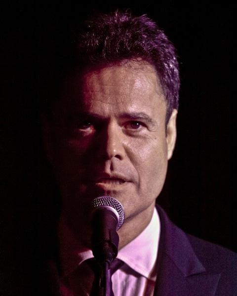 Donny Osmond at Jim Caruso's Cast Party Celebrates Vegas