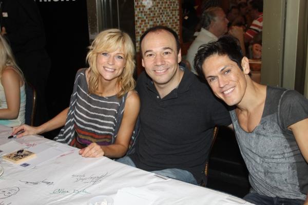 Lisa Brescia, Danny Burstein and MiG Ayesa