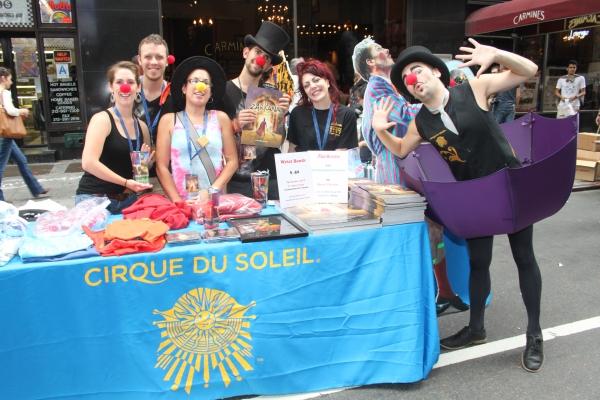 Photo Coverage: BC/EFFA 2011 Flea Market Merchandise Tables