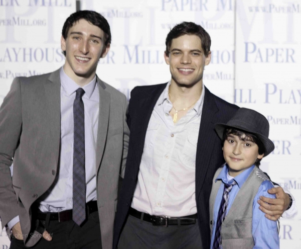 Ben Fankhauser, Jeremy Jordan, Vincent Agnello  Photo