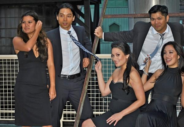 Liz Casasola, Jake Manabat, Diane Phelan, Chris-Ian Sanchez, Jaygee Macapugay  Photo