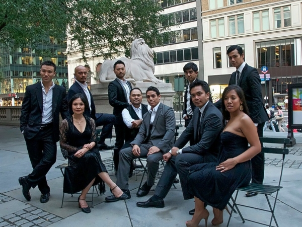 Marc dela Cruz, Mel Maghuyop, Lydia Gaston, Billy Bustamante, Orville Mendoza, Adam Jacobs, Aaron Albano, Jose Llana, JP Moraga at Exclusive  Llana, Jacobs, Desai et al. Photo Shoot for SUITES BY SONDHEIM