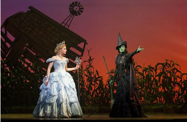 Photo Flash: First Look at Jackie Burns & Chandra Lee Schwartz in WICKED!