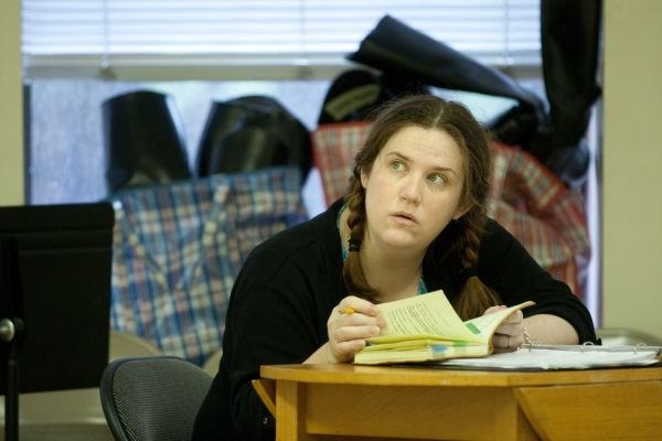 Donna Lynne Champlin at JANE AUSTEN'S PRIDE & PREJUDICE in Rehearsal, Part 2!