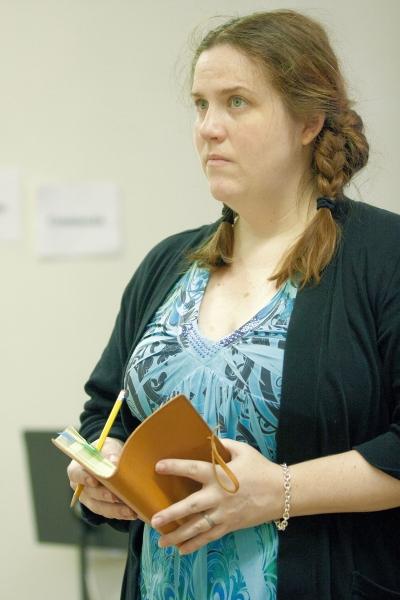 Photo Flash: JANE AUSTEN'S PRIDE & PREJUDICE in Rehearsal, Part 2!