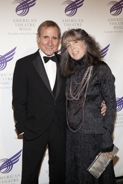 Jim Dale and wife Julie Schafler