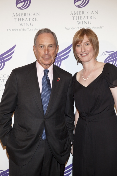 Mayor Bloomberg and Heather Hitchens