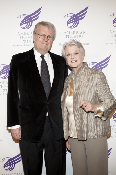 Sir Howard Stringer and Angela Landsbury