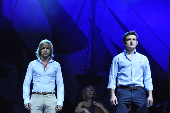 Keith Harkin and Emmet Cahill