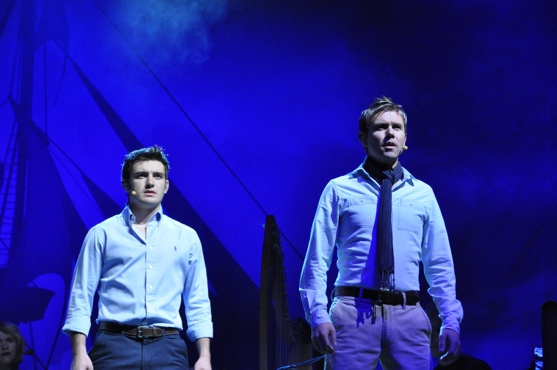 Emmet Cahill and Neil Byrne