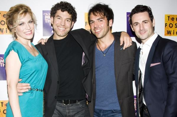 Felicia Finley, Paul Stancato, Nick Dalton & Max von Essen at 2011 NYMF Kicks Off with Opening Gala!