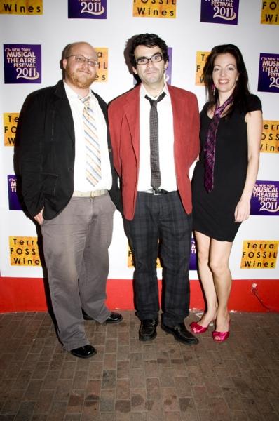 "Jason ""Sweettooth"" Williams, Joe Iconis & Liz Lark Brown Photo"