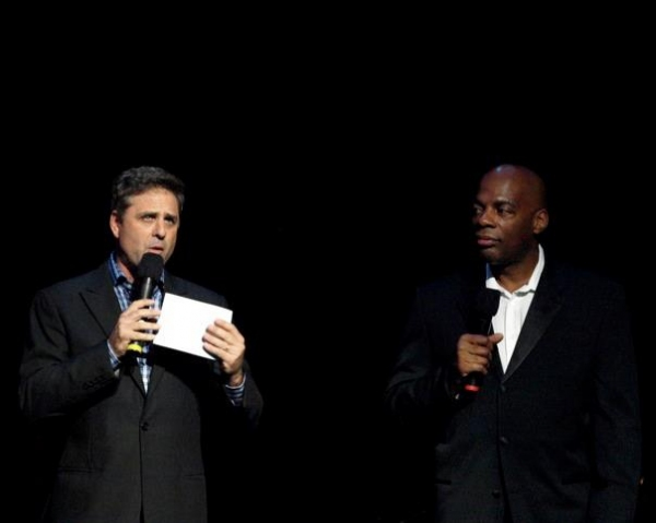 Mark Walberg and Alonzo Bodden