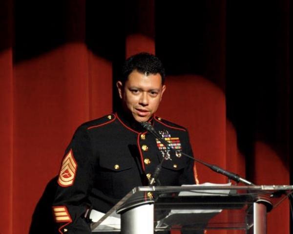 U.S. Marine Corps Sergeant Tony Lino