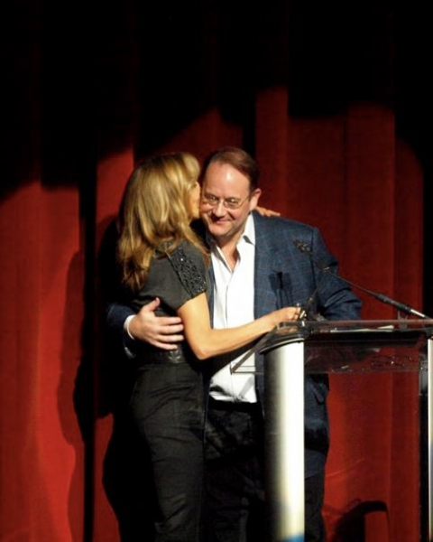 Felicity Huffman and Marc Cherry