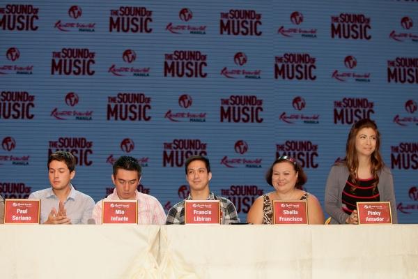 Paul Soriano, Mio Infante, Francis Libiran, Sheila Francisco, Pinky Amador