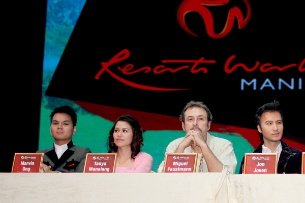 Marvin Ong, Tanya Manalang, Miguel Faustmann, Jon Joven