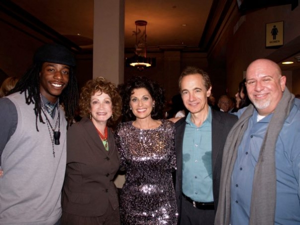 Russell Ferguson, Barbara Epstein, Valerie Perri, Jason Graae, and Gerald Sternbach Photo
