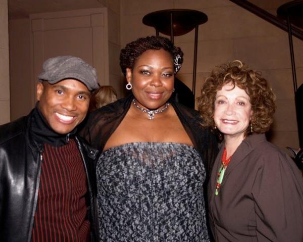 Eric B. Anthony, Gwen Stewart, and Barbara Epstein Photo