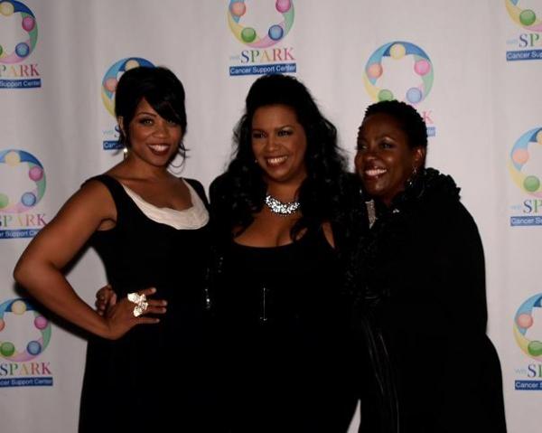 Kamilah Marshall, Sylvia MacCalla, and Connie Jackson