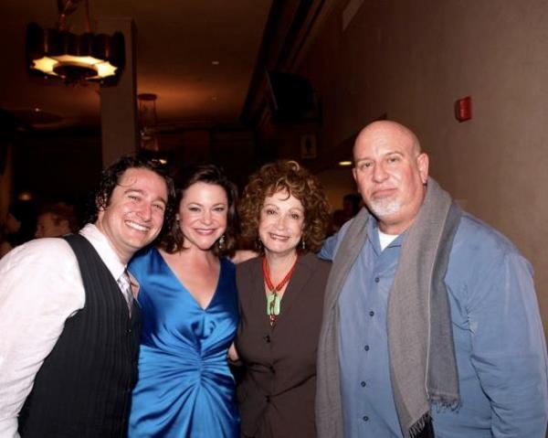 Lindsey Alley, Barbara Epstein, and Gerald Sternbach Photo