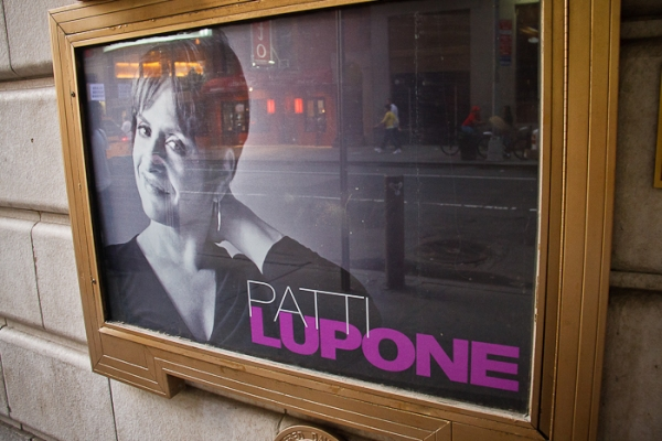 UP ON THE MARQUEE: AN EVENING WITH PATTI LUPONE & MANDY PATINKIN!