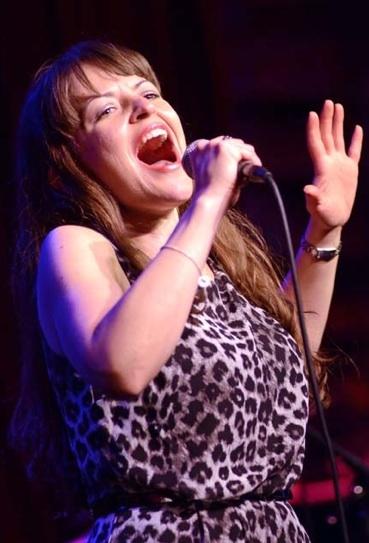 Jenna Esposito at Jim Caruso's Cast Party at Birdland