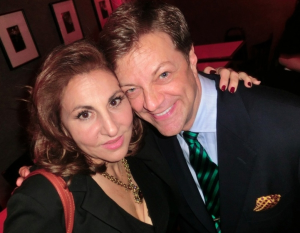 Kathy Najimy & Jim Caruso at Jim Caruso's Cast Party at Birdland