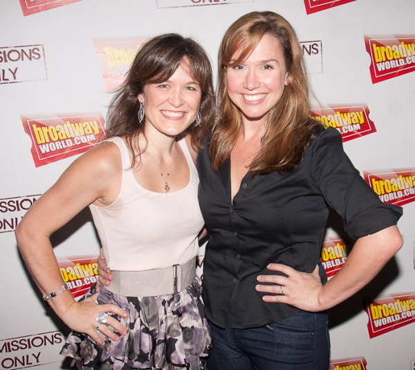 Julie Foldesi and Holly Davis at Beth Leavel, Andrew Keenan-Bolger, Kate Wetherhead and More Celebrate SUBMISSIONS ONLY Season 2 Launch on BWW!