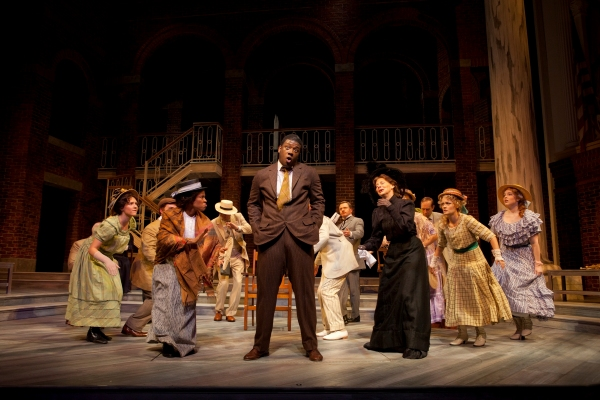 Photo Flash: Euan Morton and More in Ford Theatre's PARADE - First Look!